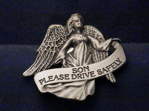 Angel Visor Clip for your car, SON, Please Drive Safely, KVC141SON