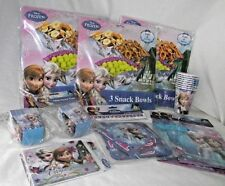 Frozen Party Lot Snack Pails Birthday Banner Cups Treat Bags Boxes Invites Anna