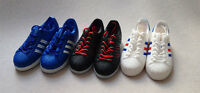 "1/6 scale X-toys ADS Black Sport Sneaker shoes fit 12"" figure body toys 3 colors"