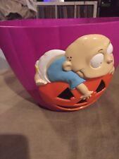 Nickelodeon Rugrats Halloween Candy Bucket 1998