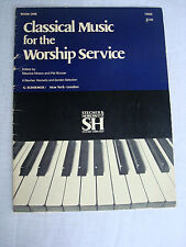 Classical Music for the Worship Service. Maurice Hinson & Pat Boozer. Book One