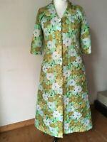 Kimono Steppmantel Street Style Berlin Hipster 60er vintage Blumen 40 42