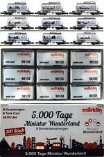 Marklin Z Scale 98140  9  Tank Cars Minatur Wunderland- Original Box - New C10