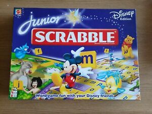 Junior Scrabble Disney Edition by Mattel