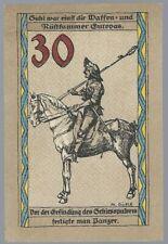 Notgeld - Suhl - Stadt Suhl - 30 Pfennig - 1922 - Rüstkammer Europas  - Bild 1