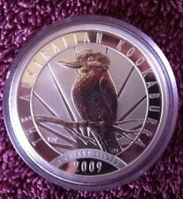 Australia Dollar, 2009, Kookaburra 20th Anniversary, In Perth Mint Capsule.