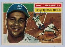 1956 TOPPS ROY CAMPANELLA STAMPED FACSIMILE AUTO DODGERS