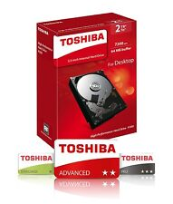"Toshiba 2TB 3.5"" P300 Hard Drive, gaming computers, powerful desktop workstation"