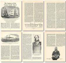 1960 The Capture Of The Sunny South Slave Ship Old Article