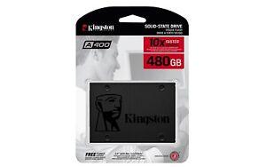 KINGSTON  HARD DISK SSD STATO SOLIDO 2,5 480GB SA400S37/480G SATA 6Gb/s