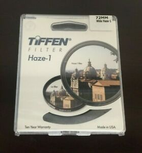 Tiffen 72mm UV Haze 1 Wide Angle Mount Filter New & Ships FREE!!!