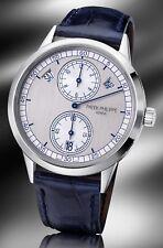 Patek Philippe 5235G Factory Sealed Annual Calendar Regulator 18kt White Gold