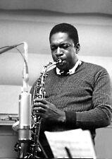 "Reproduction ""John Coltrane"" Poster, Jazz, Wall Art, Vintage Print"
