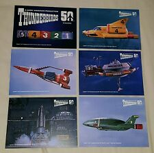 Thunderbirds 50th Anniversary Giant Size Case Topper Trading Card Set