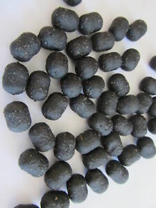 Black Hookbaits Carp Fishing Bait Pellets Dumbell Hookbaits lots of flavours