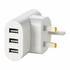 IKEA USB PLUG UK MAINS KOPPLA 3-port