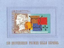 CARNET COMPLETO 150 ANIVERSARIO EDIFIL Nº 3711AC+ PRUEBA 71A