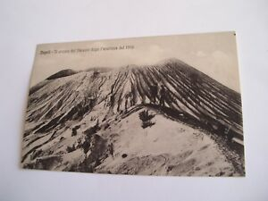 Napoli - il cratere del Vesuvio dopo l'eruzione del 1906 - non spedita f. p.