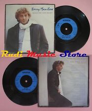 LP 45 7'' BARRY MANILOW Read 'em and weep One voice live 1983 uk no cd mc dvd