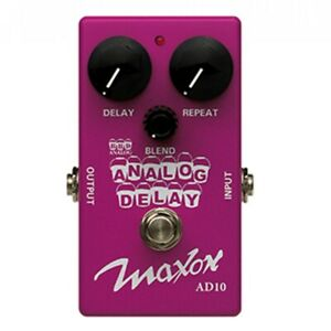 Maxon ANALOG DELAY (AD10) Guitar Effects Pedal