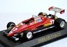 FERRARI F1 GILLES VILLENEUVE 1:43 Scale Racing Car Model Formula One Miniature