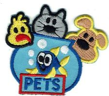 Girl Boy Cub PETS animals Care Patches Crest Badges SCOUT GUIDE Dogs Cats Fish