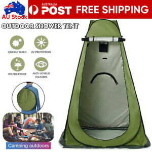 Portable Pop Up Outdoor Camping Shower Tent Toilet Change Room W/CarryBag New