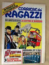 CORRIERE DEI RAGAZZI 1974 n° 21 - OTTIMO CON POSTER GERMANIA EST RETRO CILE