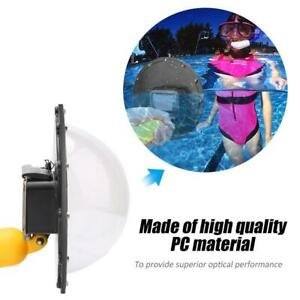 Wasserdichte 6-Zoll-Dome-Port-Abdeckung für GoPro Hero 8 7 6 OSMO Action