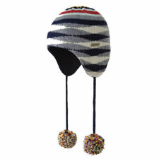 Polyester Winter Fitted Hats for Men