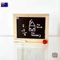 Mini Black Board - Miniature dollhouse 1:12 Little Shop Mini Brands