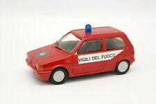Heco Modeles Résine 1/43 - Fiat Uno Pompiers Vigili del Fuoco