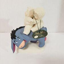 Dept. 56 Snowbabies Disney Eeyore Riding With Friends Figurine Guest Collection