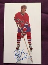 Petr Svoboda Montreal Canadiens Autographed Signed Team Issued Postcard
