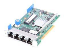 HP 331FLR Quad Port Gigabit RJ45 Ethernet Server FlexibleLOM Adapter 634025-001