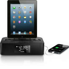 Philips Aj7050D/37 Docking Station for iPhone/iPod/iPad - Dual Alarm Fm Radio!