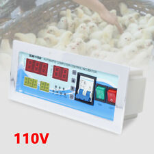 Pro Auto Intelligent Egg Incubator Controller Kit w/ Thermostat Humidity Sensor