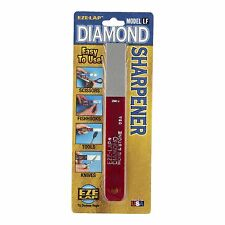 Eze-Lap DIAMOND FINE STONE SHARPENER 600-Grit Hone, Robust, Easy Use - USA Made