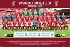 "LIVERPOOL FC 2017/2018 TEAM POSTER ""LICENSED"" (61X91.5cm) ""BRAND NEW"" EPL"