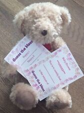 Baby Shower Guess the Mess Nappy Game 10 cards & a Winners Certificate Pink Girl
