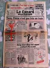 Le Canard Enchainé 24/12/1986; La nouvelles filière RPR pour se loger à Paris