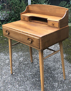 VERY RARE CLEAN ERCOL RETRO WRITING DESK-  DELIVERY AVAILABLE