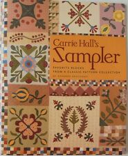 Carrie Hall's Favorite Blocks From A Classic Pattern Barbara Brackmas Quilt Book