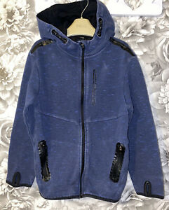Boys Age 6-7 Years - Hooded Sweater Top
