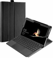 "Poetic® For Microsoft Surface Go 10"" Leather Case [SlimFolio] Stand Cover"" BLK"
