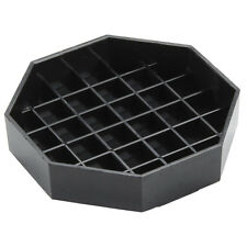 """USA SELLER  6"""" Black Octagon Pitcher Drip Tray   FREE SHIPPING US ONLY"""