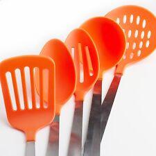 5-Piece Kitchen Utensil Set Stainless Steel Nylon Tools