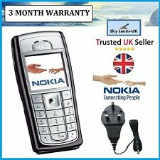 New Condition Nokia 6230i Unlocked Camera Bluetooth Classic Mobile Phone Brand