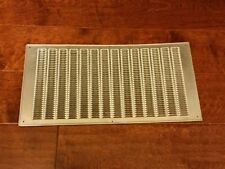 Air Conditioning Return Air Vent Aluminum  Grill Cover Used Good Condition