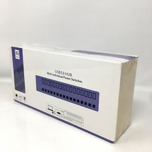 USB3.0 HUB with Individual Power Switches 16 ports